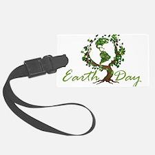 Earth Day Luggage Tag