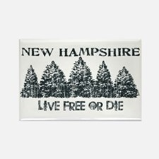 Cute New hampshire Rectangle Magnet