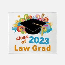 2023 Law School Grad Class Throw Blanket