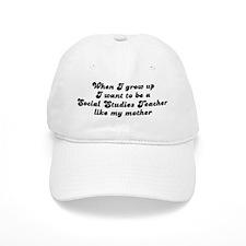 Social Studies Teacher like m Baseball Cap