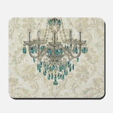 modern chandelier damask fashion paris art Mousepa