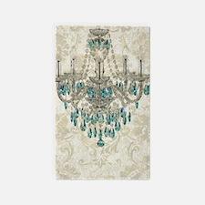 modern chandelier damask fashion paris art 3'x5' A