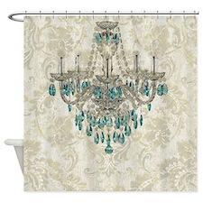modern chandelier damask fashion paris art Shower