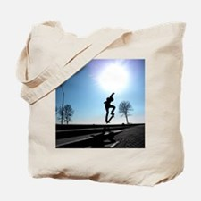 Against the Sky Tote Bag