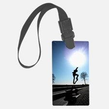 Against the Sky Luggage Tag