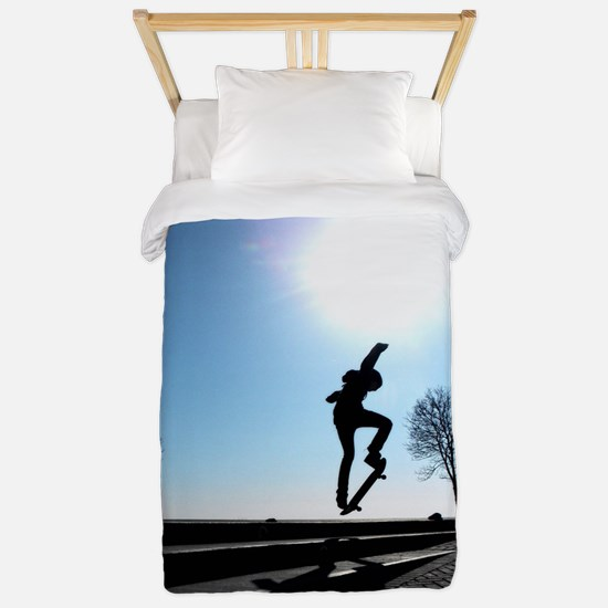 Against the Sky Twin Duvet