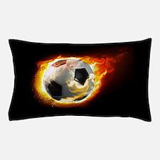 Soccer Fire Ball Pillow Case