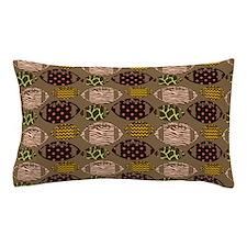 Cool Modern Football Tile Pattern Pillow Case