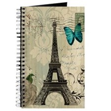butterfly modern paris eiffel tower Journal