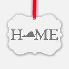 Virginia Home Ornament