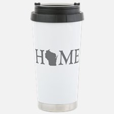 Wisconsin Home Travel Mug