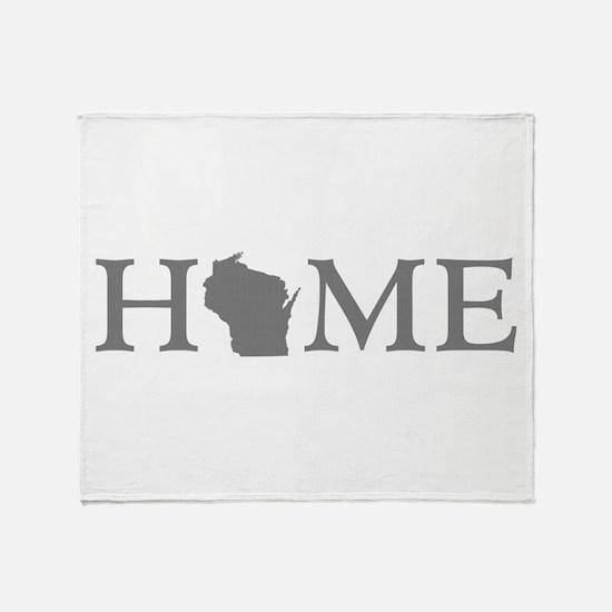 Wisconsin Home Throw Blanket