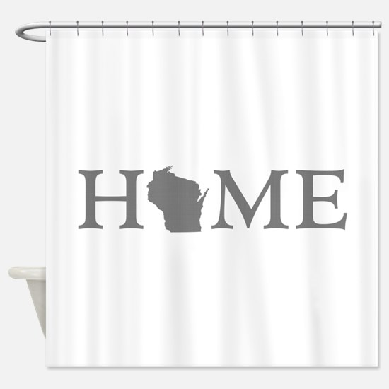 Wisconsin Home Shower Curtain
