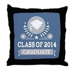 Class of 2014 Graduate Gift Throw Pillow