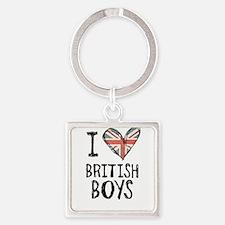 British Boys Keychains