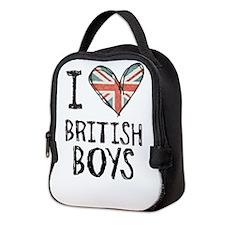 British Boys Neoprene Lunch Bag