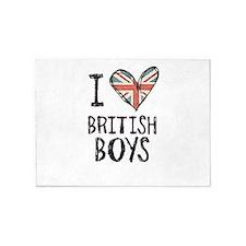 British Boys 5'x7'Area Rug