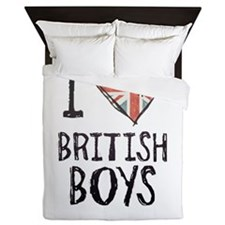 British Boys Queen Duvet