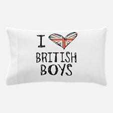 British Boys Pillow Case
