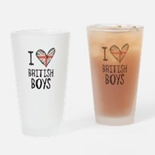British Boys Drinking Glass