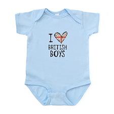 British Boys Body Suit
