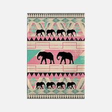 aztec elephant Rectangle Magnet