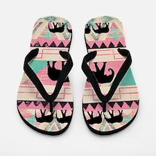 aztec elephant Flip Flops