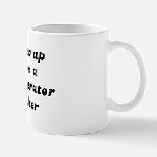 Telephone Operator like my mo Mug