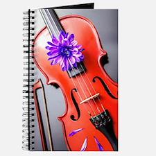 Artistic Poetic Violin Journal