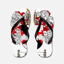 Aarmour coat of arms / family crest Flip Flops