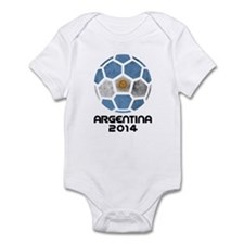 Argentina World Cup 2014 Infant Bodysuit