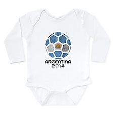 Argentina World Cup 20 Long Sleeve Infant Bodysuit