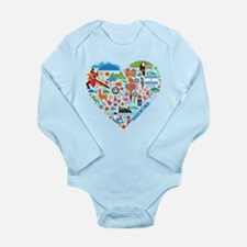 Argentina World Cup 20 Long Sleeve Infant Bodysuit
