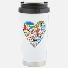 Argentina World Cup 201 Stainless Steel Travel Mug