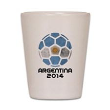 Argentina World Cup 2014 Shot Glass