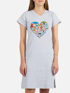 Argentina World Cup 2014 Heart Women's Nightshirt