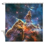 Mystic Mountain Astronomy Shower Curtain