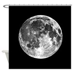Moon Earth's Moon Shower Curtain