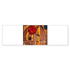 Charles Rennie Mackintosh Stained Glass Bumper Sti
