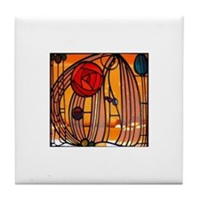 Charles Rennie Mackintosh Stained Glass Tile Coast