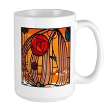 Charles Rennie Mackintosh Stained Glass Mugs