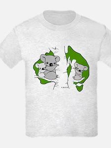 Koala Bears (green) T-Shirt