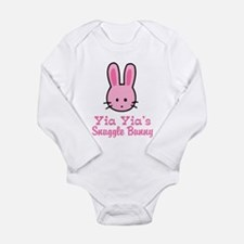 Funny Snuggle Long Sleeve Infant Bodysuit