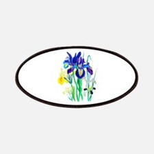 Blue and Yellow Iris by Loudon Patches