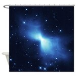 Boomerang Nebula Shower Curtain