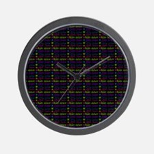 Gorgeous Elegant Little Sister Pattern Wall Clock