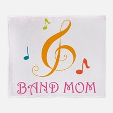 Band Mom Music Stylish Throw Blanket