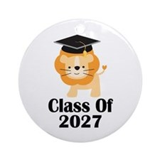 Class of 2027 Graduate (lion) Ornament (Round)