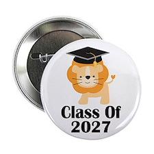 "Class of 2027 Graduate (lion) 2.25"" Button"