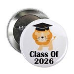 "Class of 2026 Graduate (lion) 2.25"" Button"